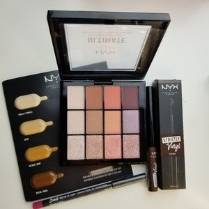 NEW NYX Eyeshadow, Eye & Lipiner set Unused !